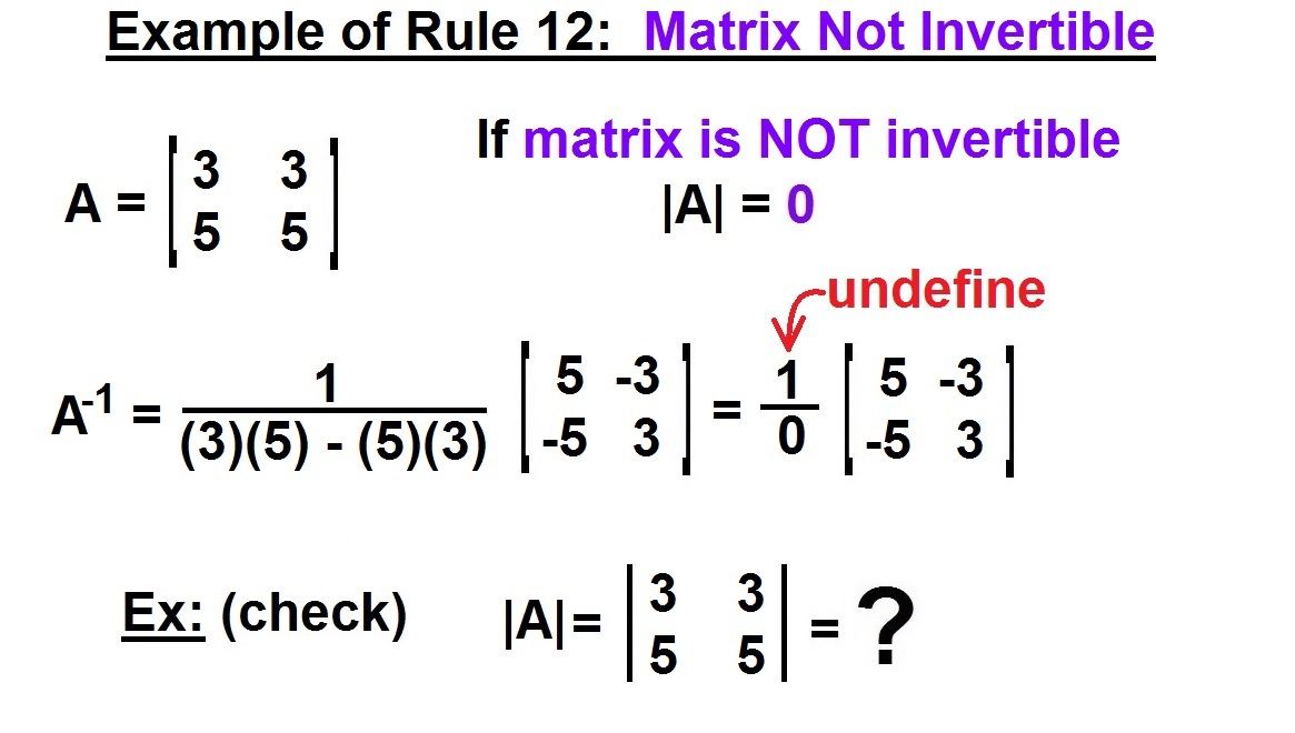 inverse matrix berechnen 2x2 a la hora de calcular una. Black Bedroom Furniture Sets. Home Design Ideas